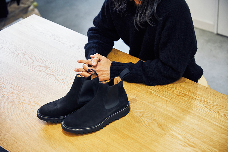 実力派ブランドのデザイナーが語る、 意外な革靴遍歴。 「COMOLI」小森 啓二郎