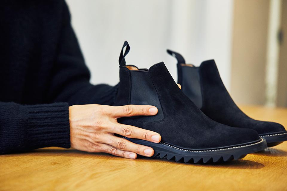 実力派ブランドのデザイナーが語る、 意外な革靴遍歴。「COMOLI」小森 啓二郎