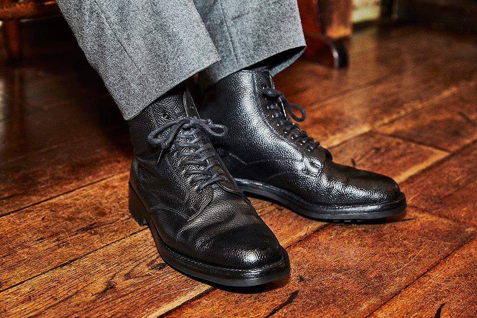 靴磨きチャンピオンが惚れ込んだ ドレス靴ではない一足。 「Brift H」代表 長谷川 裕也