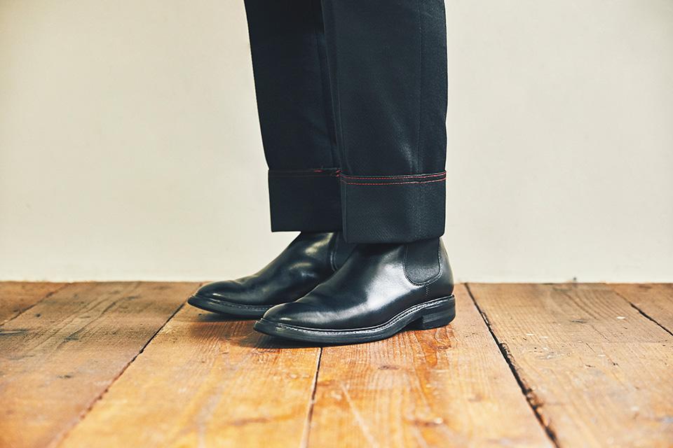 リペアを重ねて履き続ける スタイリストの愛用ブーツ。  小松 嘉章