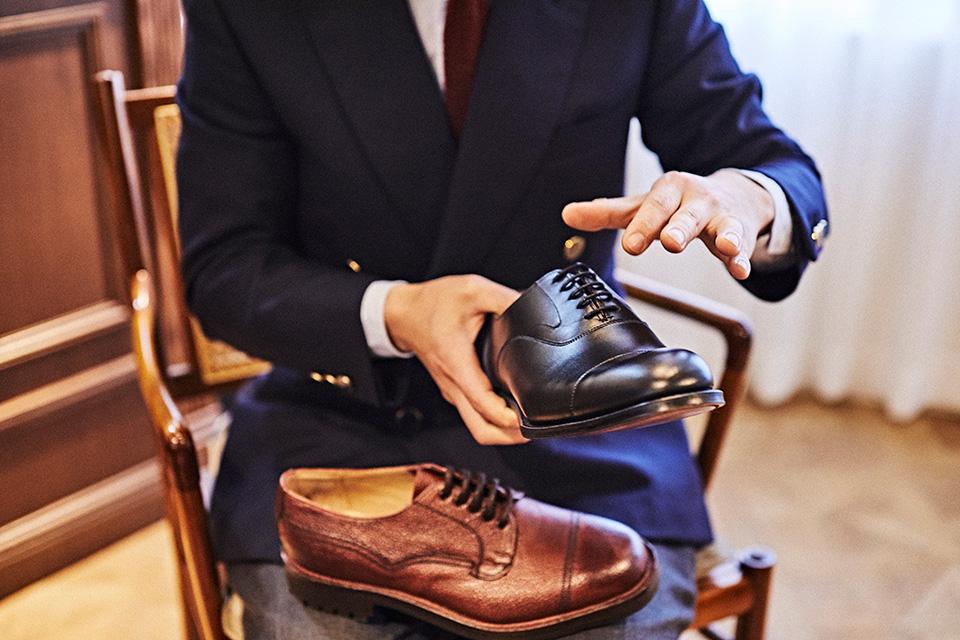 対談:英国靴における、レディメイドとビスポークの異なる魅力。 ウィリアム チャーチ × 「マーキス」川口昭司
