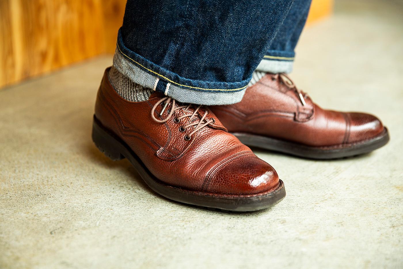 靴磨き系YouTuberの価値観を変えた、ミリタリーシューズ。 靴磨き芸人 奥野 奏