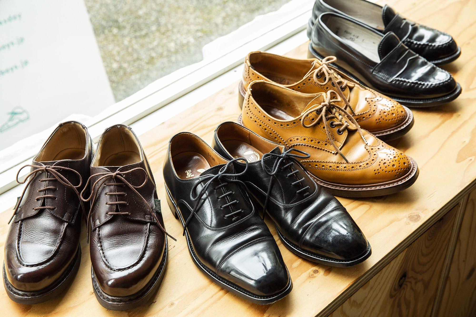 靴磨き芸人 奥野 奏さんの革靴遍歴