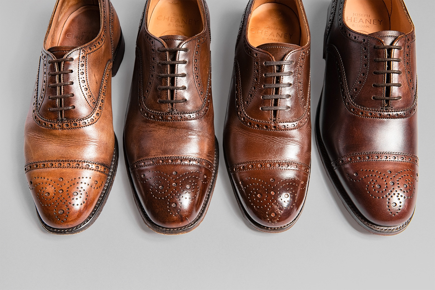 AGING MUSEUM of JOSEPH CHEANEY BROWN 経年変化まとめ