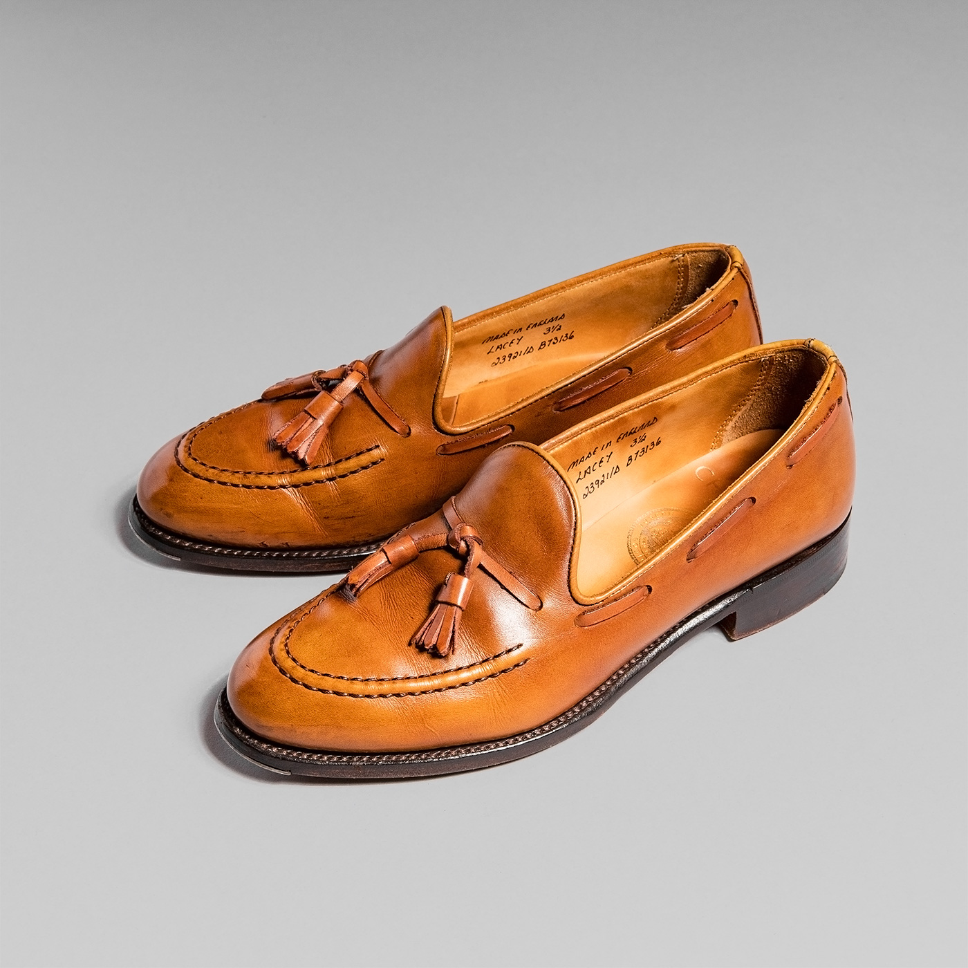 AGING MUSEUM of JOSEPH CHEANEY CONKER LACEY(レイシー) 4年着用